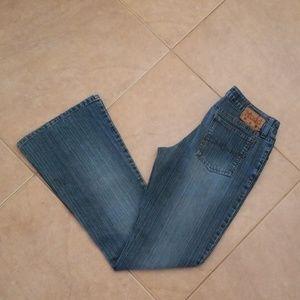 Mudd Dark Blue Flare Jeans